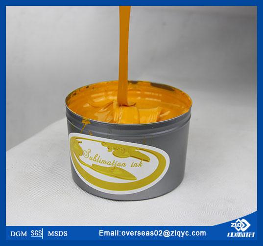 Fade Resistant ZhongLiQi Litho Sublimation Ink_Henan